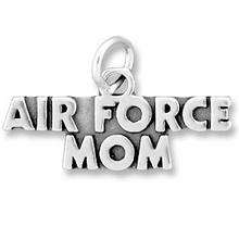 Airforce Mom Charm