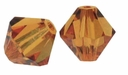 Majestic Crystal® Smokey Topaz 6mm Faceted Bicone Crystal Beads (18PK)