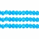 Majestic Crystal® Aqua  AB 3x4mm 32-Facet Crystal  Rondelle Beads (50PK)