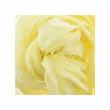 "42"" Pale Yellow Silky Ribbon (1 Strand)"