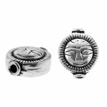 Aztec Sun Bali Sterling Silver Bead (1PC)