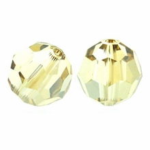 Crystal Golden Shadow 10mm Swarovski 5000 Round Crystal Beads (1PC)