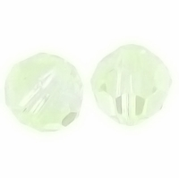 Chrysolite Opal Swarovski 5000 8mm Round Crystal Beads (1PC)