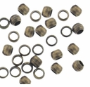 Antique Brass 2.5x1.5mm Crimp Beads (100PK)