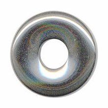 15mm Hematite Gemstone Donut