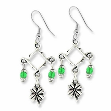 Antique Silver St. Patrick's Day Pewter Earring Kit