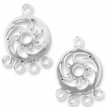 "4"" Ring Hurricane Earring Drop (1PR)"