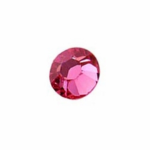Rose 2028 Swarovski Flat backs Crystal SS09 (1PC )