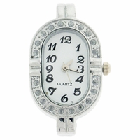 Rhinestone Oval Watchface for Beading