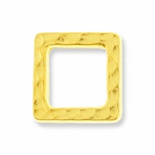 Antique Gold Sm Hammertone Square