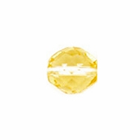 3mm Jonquil Czech Fire Polished Round Glass Beads (50PK)