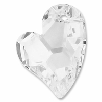 27mm Crystal Swarovski Devoted 2U Heart