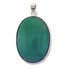Natural Aventurine 44mm Oval Pendant (1PC)
