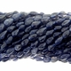 Iolite Tear Drop Beads 14 inch Strand