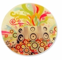 60mm Colorful Music Shell Pendant (1PC)