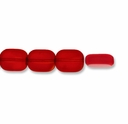 Majestic Crystal® Ruby Fire 10x8mm Rectangle Crystal  Beads (29PK)