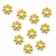 5mm Gold Vermeil Daisy Spacer (10PK)