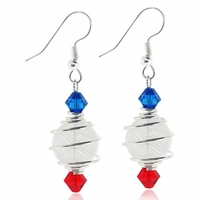 USA Celebration Earring Design Kit