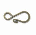 Antiqued Brass S Hook (1PC)