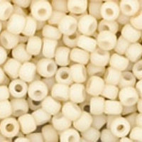 Opaque Pastel Frosted Egg Shell Seed Bead size 11/0