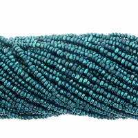 Teal 1.5-2mm Potato Freshwater Pearl Bead Strand