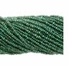 Forest Green 1.5-2mm Potato Freshwater Pearl Bead Strand