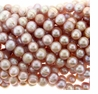 Light Lavender Pink Potato Freshwater Pearls 10-12mm