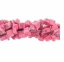 Pink Turquoise (IM) Bead Chips 36 Inch Strand