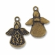 Antiqued Brass Angel 20mm Charm (1PC)