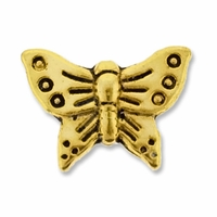 Antiqued Gold 16mm Butterfly Bead (1PC)