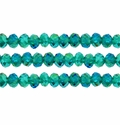 Crystal Rondelle 3x4mm Faceted Crystal Beads