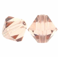 Vintage Rose Opal 5328 5mm Xilion Bicone Crystal Beads (10PK)