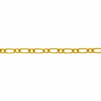 Gold Filled Long and Short Chain 1.2mm (1 inch)