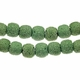 10mm Moss Round Lava Rock Beads 16 Inch Strand