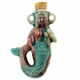 Ceramic Mermaid Bottle Pendant