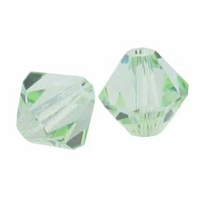 Chrysolite 5328 3mm Swarovski Crystal XILION Bicone Beads (50PK)