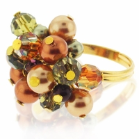 Swarvoski Harvest Ring Jewelry Design Kit