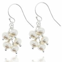 Angelique Pearl Sterling Silver Earring Design Kit