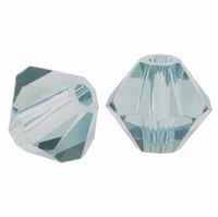 Indian Sapphire 5328 6mm Swarovski Crystal XILION Bicone Beads(10PK)