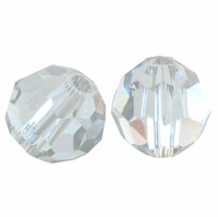Crystal Satin 5000 8mm Swarvoski Crystal Round Beads (1PC)