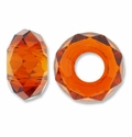 MIOVI™ Crystal Glass Large Hole Beads without Grommets