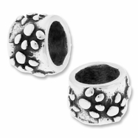 MIOVI™ Sterling Silver Paw Print Large Hole Bead (1PC)