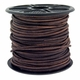 2mm Distressed Brown Cowhide Leather Cord 5 Meters