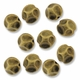 Antiqued Brass 9mm Nugget Beads  (10PK)
