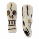 Skull Bone 22mm x 8mm Beads (1PC)