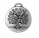 Antique Silver Tree of Life Pendant