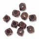 Antiqued Copper Thai Style 3mm Faceted Beads (10PK)