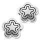 Antiqued Silver 6mm Flower Beads (10PK)