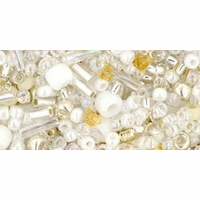 TOHO Hasu White Seed Bead Mix
