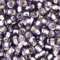 Tanzanite Silver Lined Seed Bead size 11/0